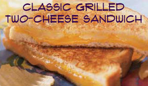 Classic Grilled Two-Cheese Sandwich Recipe